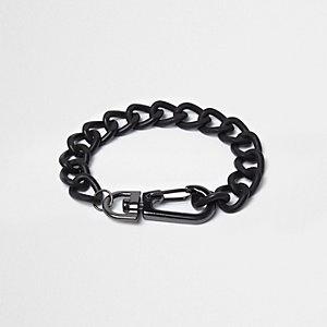 Boys black chain bracelet