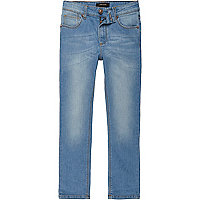 Boys light blue Sid skinny jeans