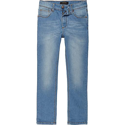 Boys light blue Sid skinny jeans