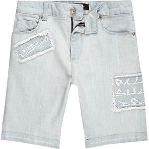 Dylan – Short en jean skinny bleu clair garçon