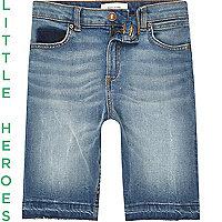 Slim Dylan – Short en jean bleu pour garçon