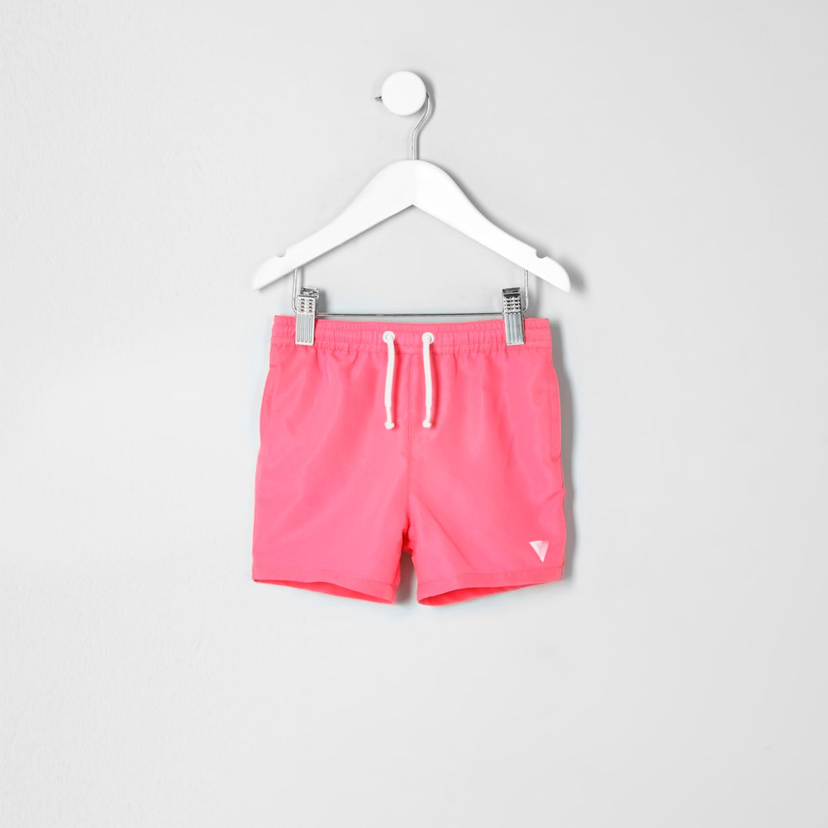 Mini boys coral print swim shorts
