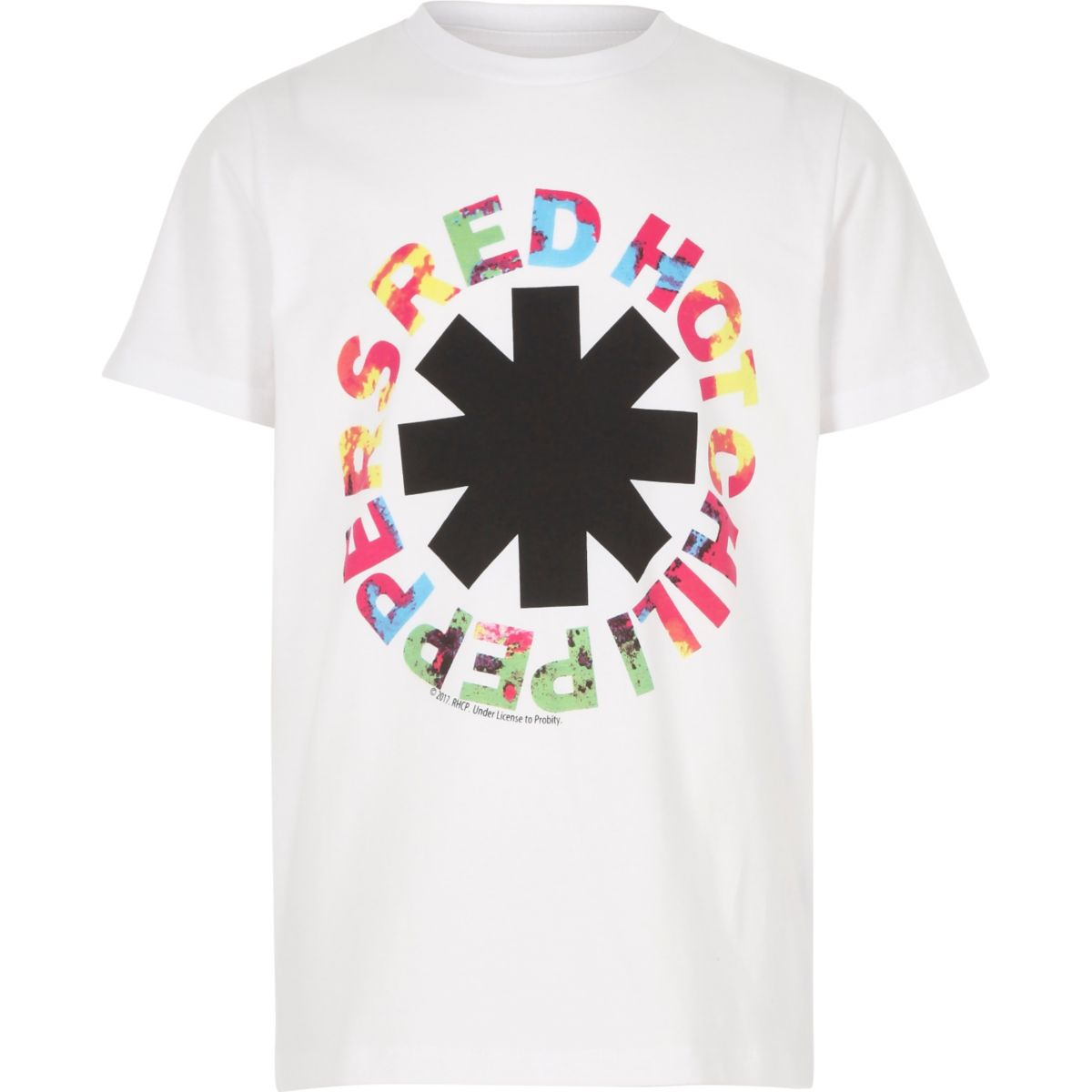 Boys white Red Hot Chili Peppers T-shirt