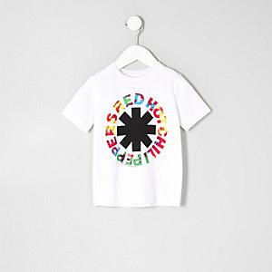 Mini - Wit Red Hot Chili Peppers T-shirt voor jongens