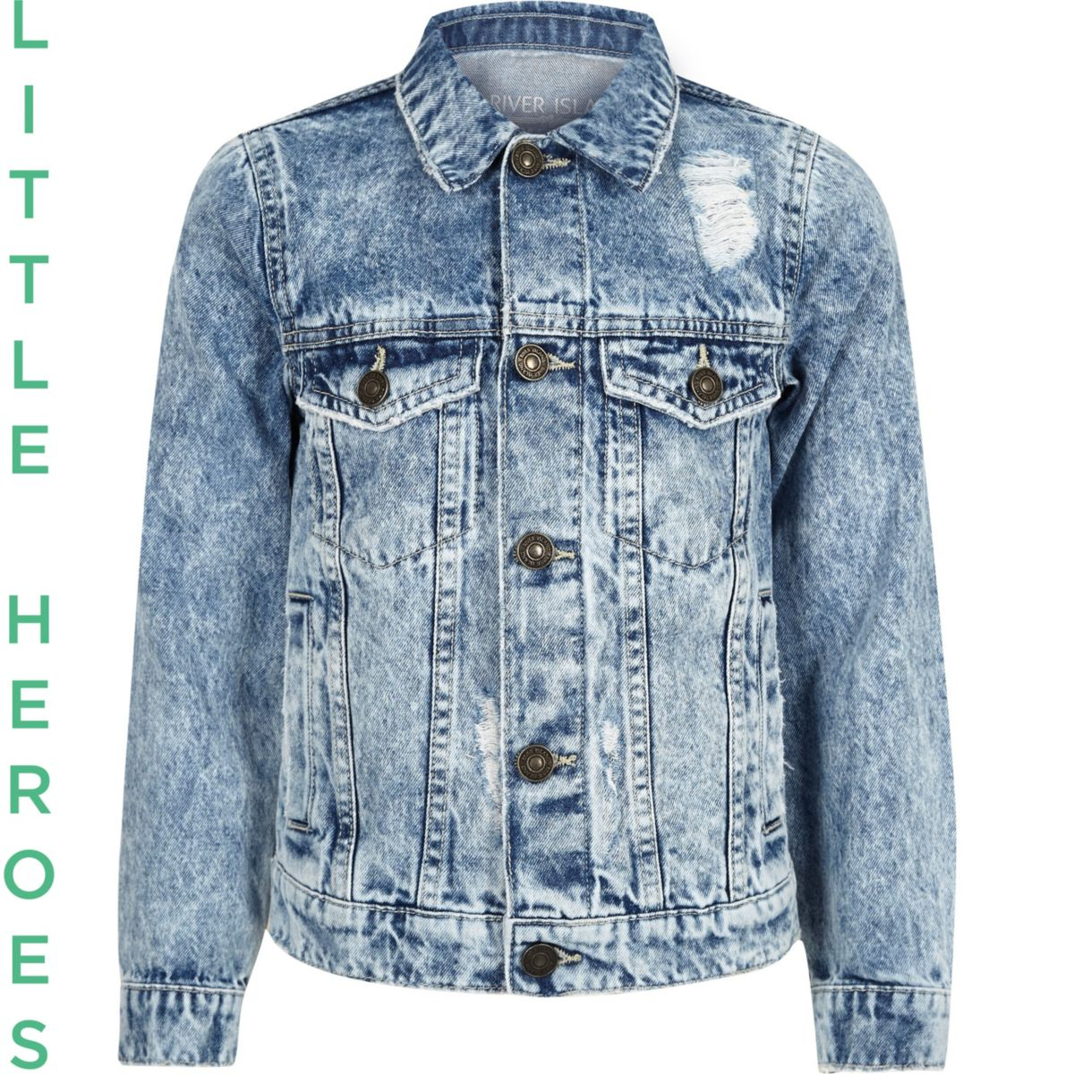 Denim Jacket Boys Designer Jackets