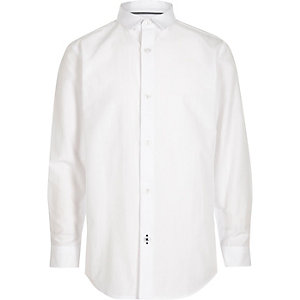 Boys white smart shirt