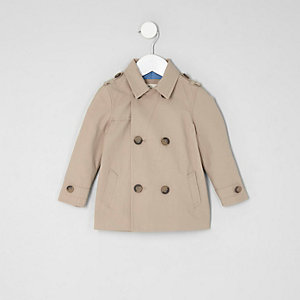 Mini boys stone smart mac jacket