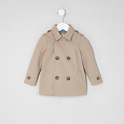 Mini boys stone smart mac jacket