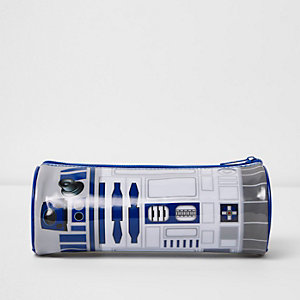 Boys white Star Wars pencil case
