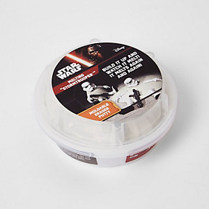 Boys white melting Stormtrooper toy