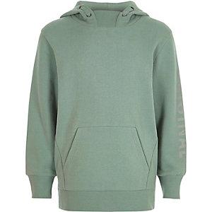 Lichtgroene hoodie met lange mouwen voor jongens