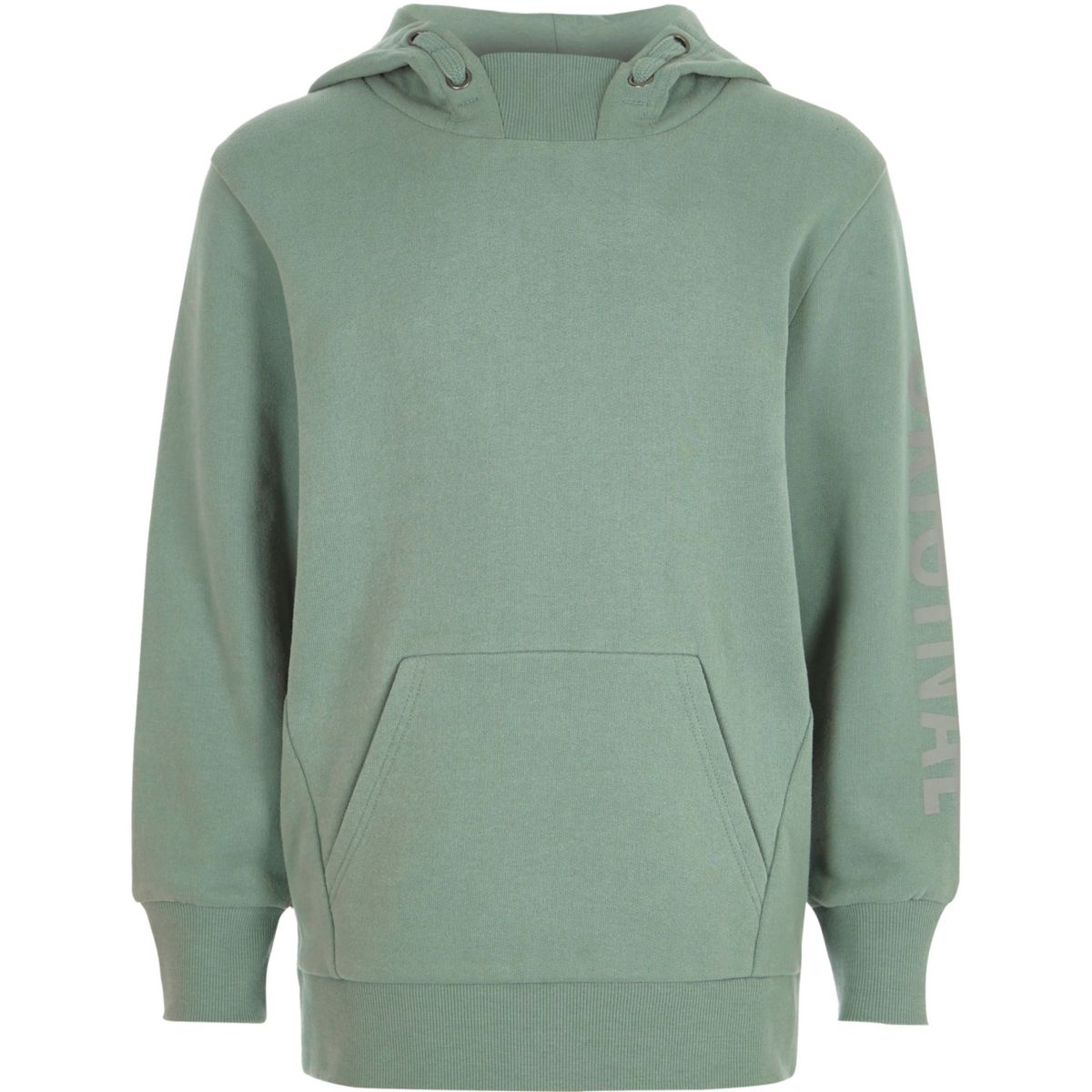 Boys light green long sleeve hoodie