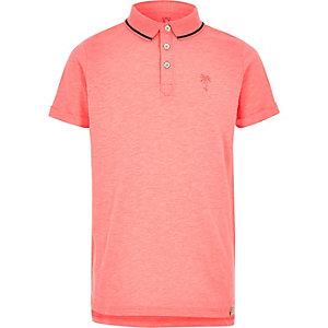 Pinkes Polohemd