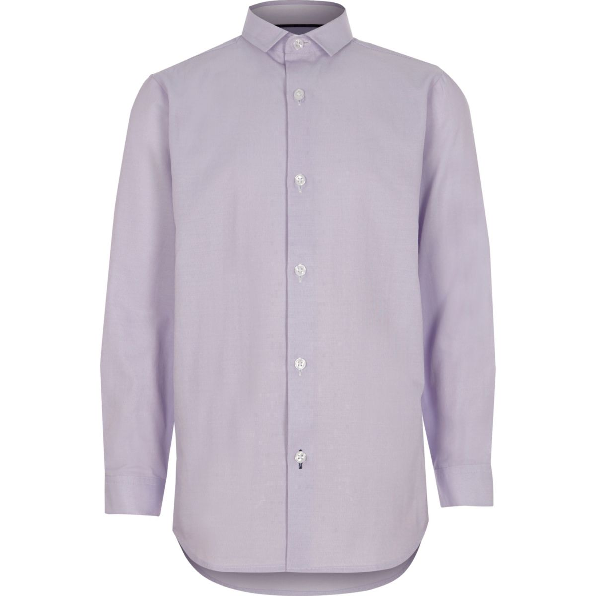Boys light purple smart shirt