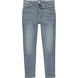Boys mid blue Sid skinny jeans