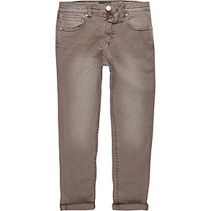 Dylan – Braune Slim Fit Jeans