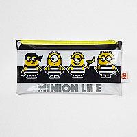 Boys black Minions pencil case