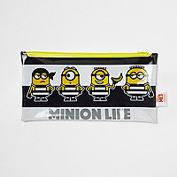 Boys black Minions pencil case