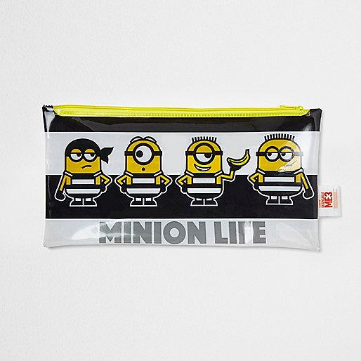 Black Minions pencil case
