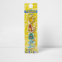 Boys yellow Pokémon eraser set
