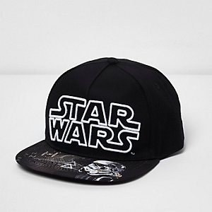 Boys 'Star Wars' flat peak cap
