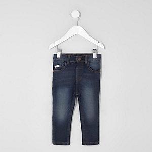 Mini boys dark blue Sid skinny jeans 8f65ba7a62