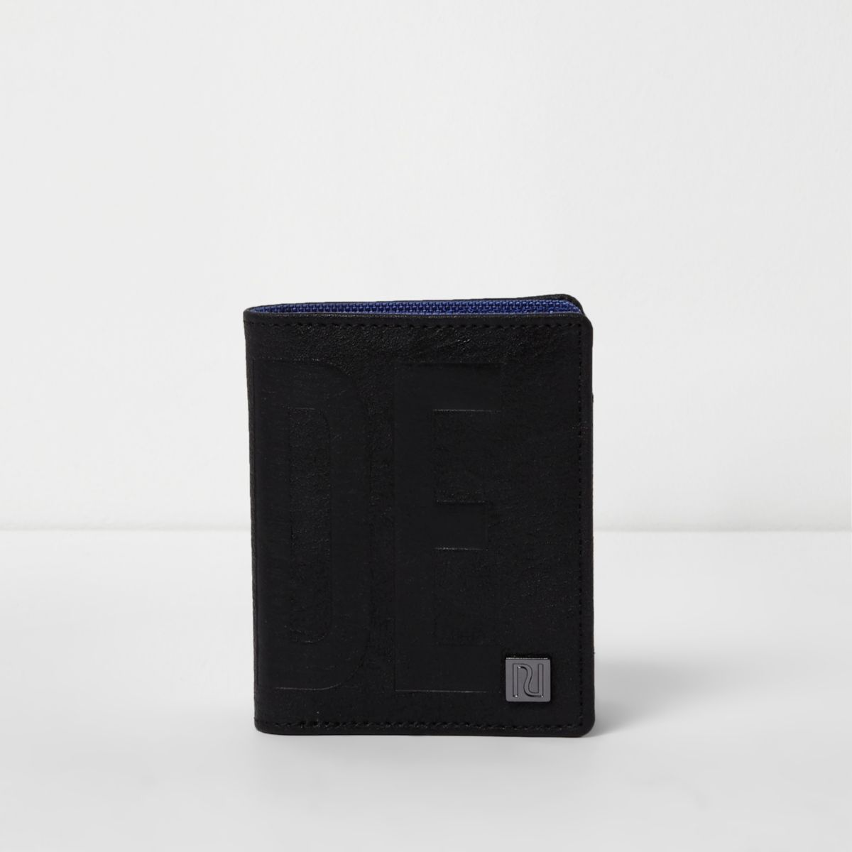 Boys black 'dude' wallet