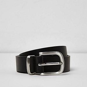 Schwarzer, eleganter Gürtel