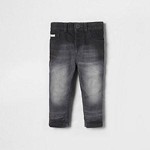 Mini - Sid grijze skinny jeans voor jongens