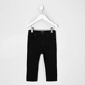Mini boys black Sid skinny jeans