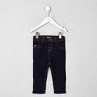 Mini boys dark blue Sid skinny fit jeans