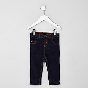 Mini boys dark blue Sid skinny fit jeans