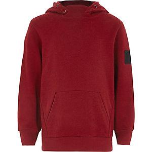 Donkerrode hoodie voor jongens