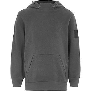 Grijze hoodie voor jongens