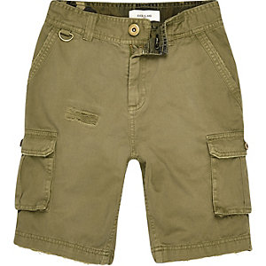 Cargo-Shorts in Khaki