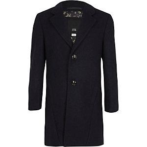 Klassischer Mantel in Marineblau