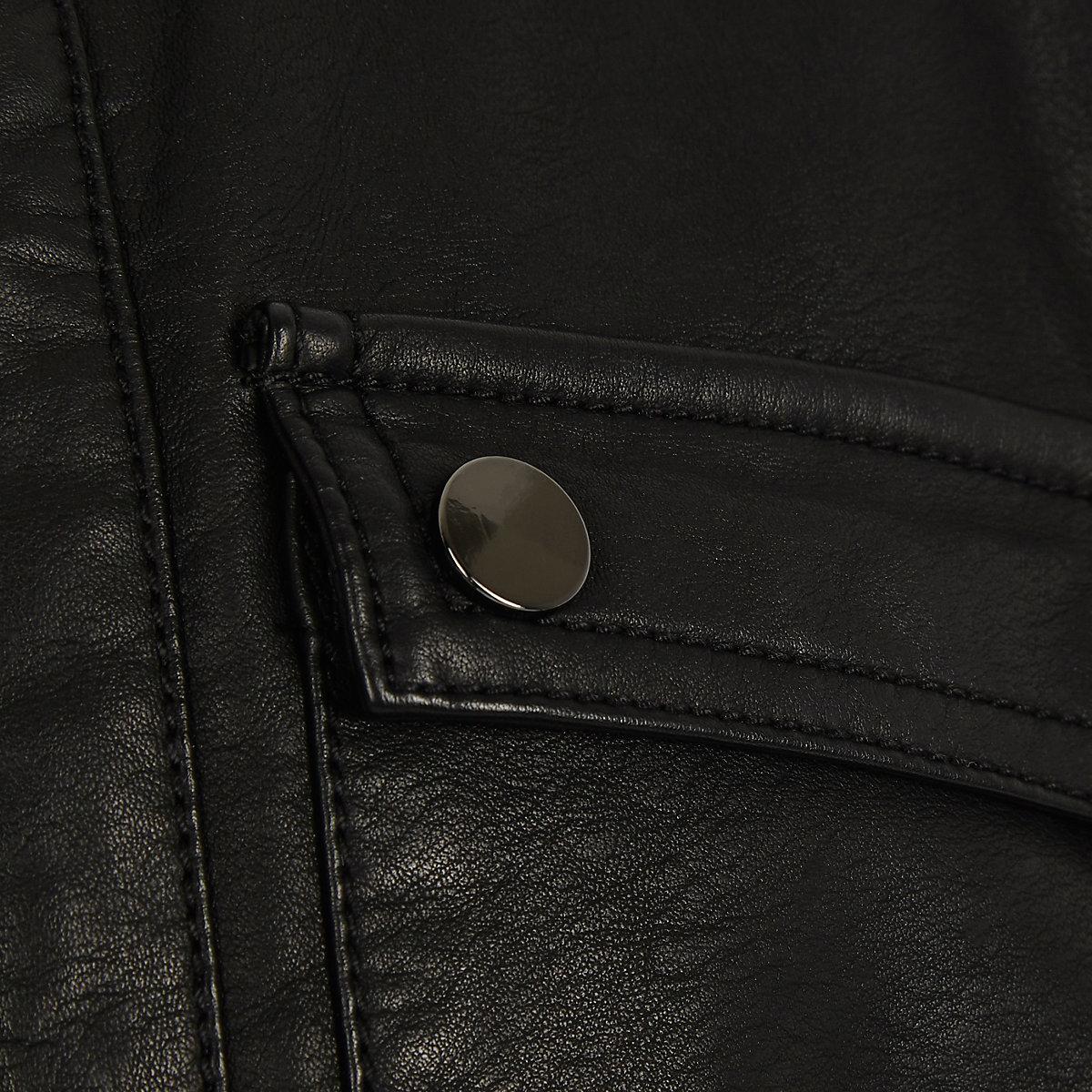 5083cf7dd Boys black faux leather racer jacket - Jackets - Coats   Jackets - boys