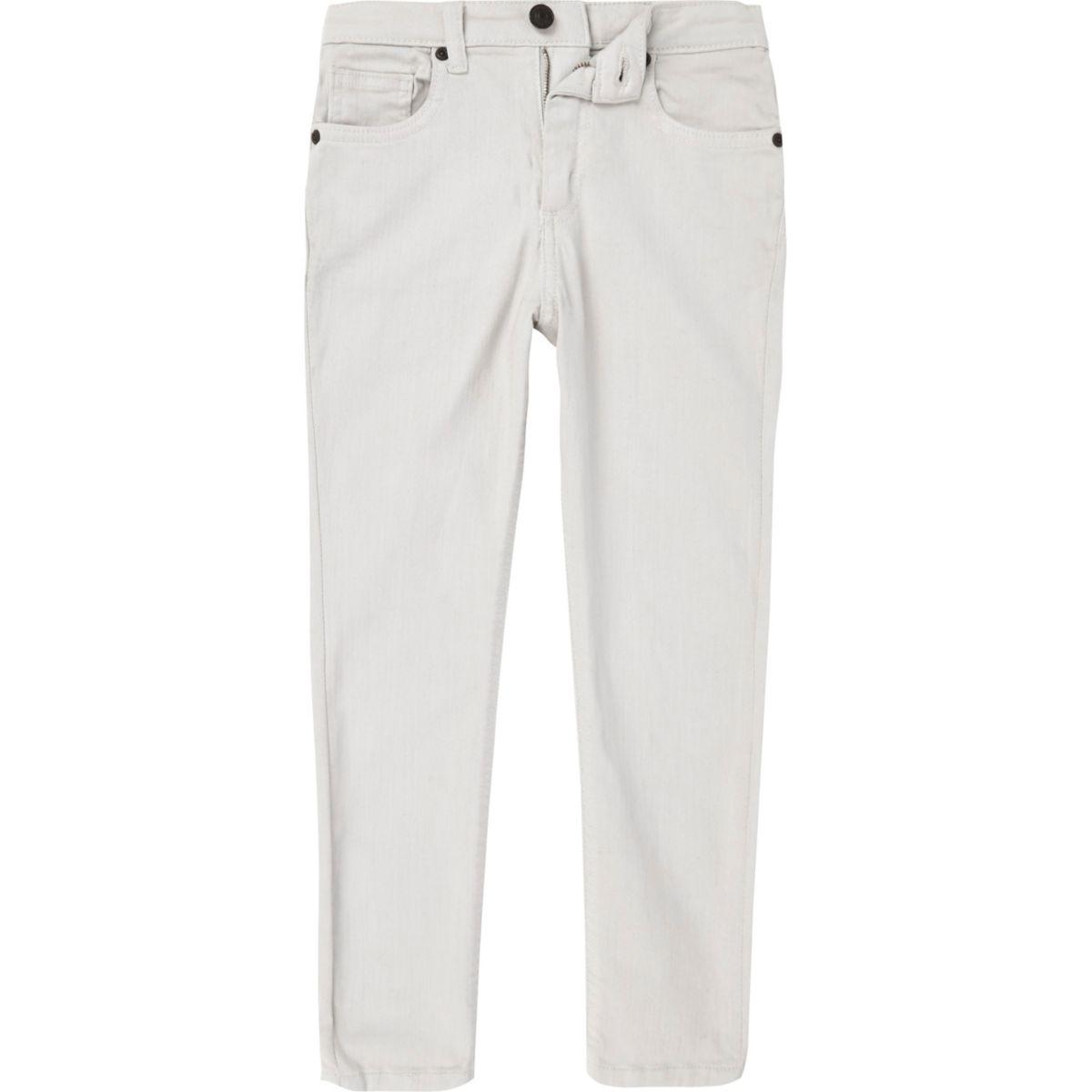 Boys stone wash Sid skinny jeans