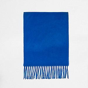 Kobaltblauer Schal