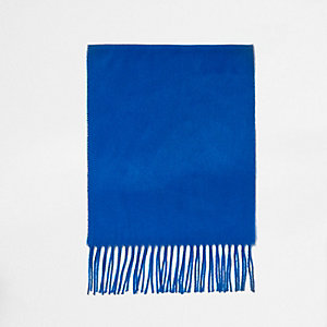 Kobaltblauwe sjaal voor jongens