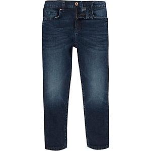 Sid - Middenblauwe skinny jeans voor jongens