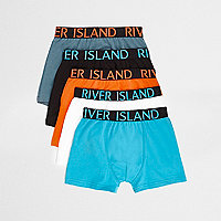 Boys blue trunks multipack