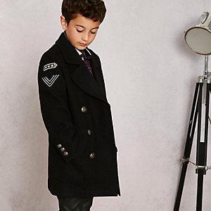 RI Studio – Caban noir style militaire pour garçon