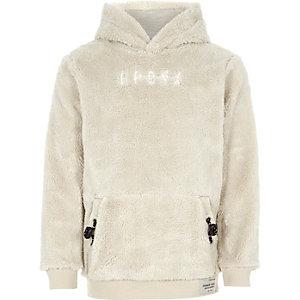 Boys borg hoodie
