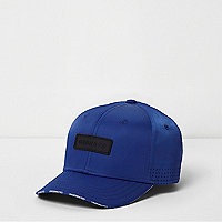 Boys cobalt blue nylon baseball cap