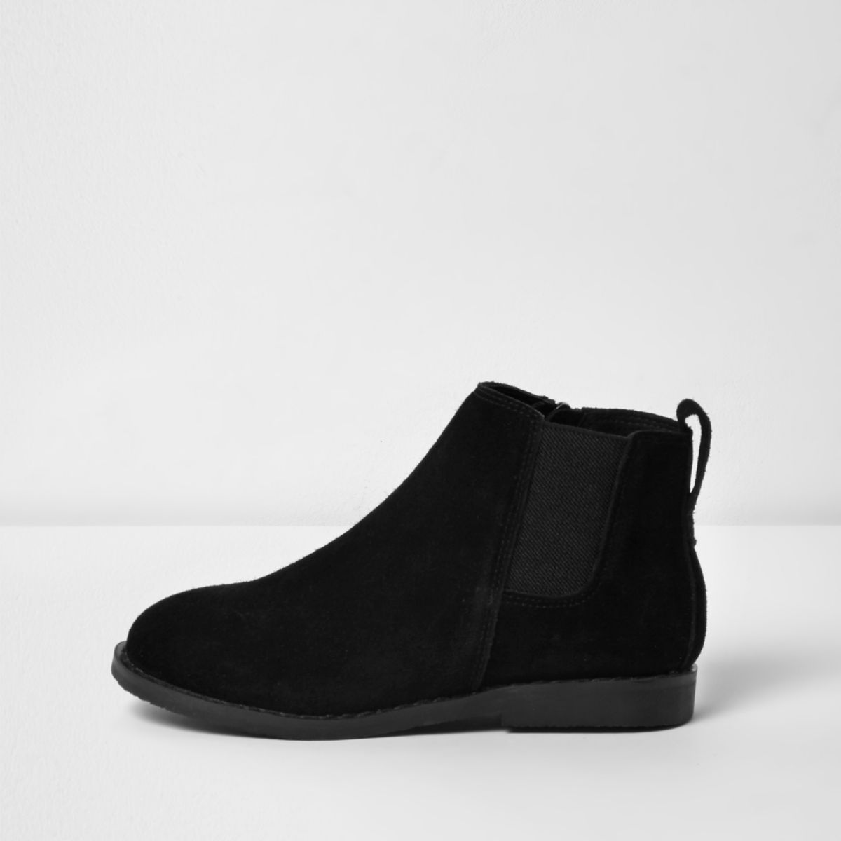 Boys black chelsea boots