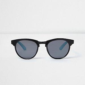 Schwarze Ombre-Sonnenbrille