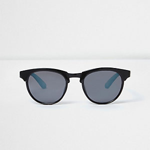 Mini boys black ombre sunglasses