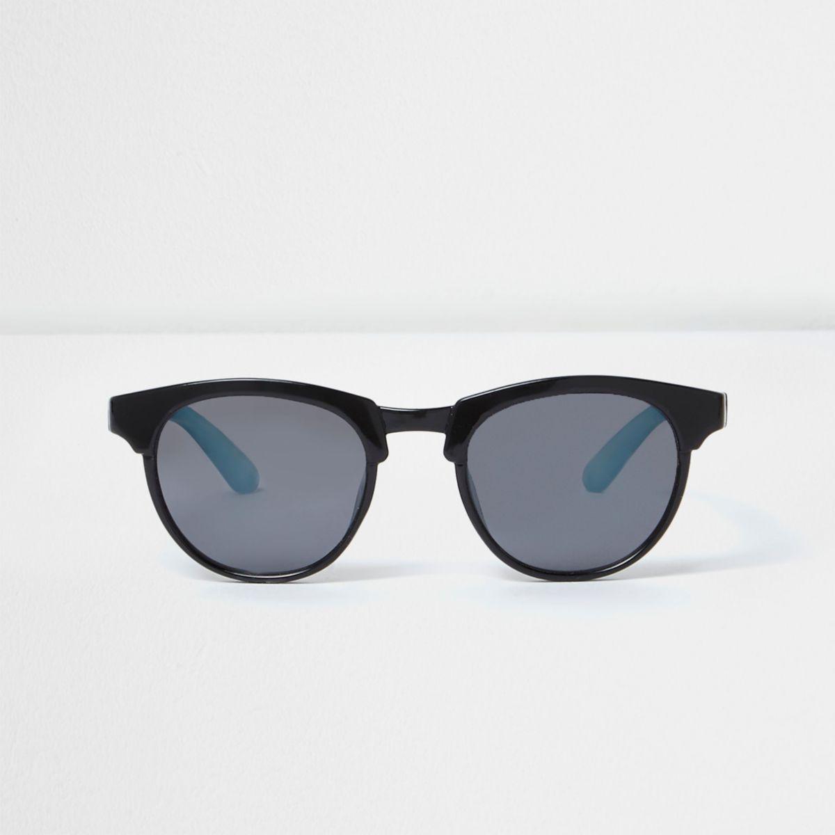 Mini boys black ombre sunglasses