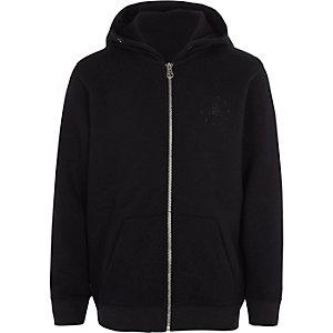 Marineblauwe hoodie met rits voor jongens